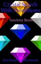 Crystal search with problems: SonAmy Boom by BloodHeartHedgehog