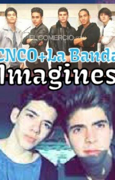 CNCO+La Banda Imagines and Preference