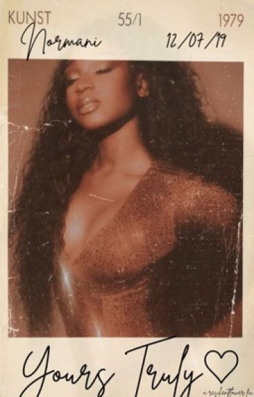 yours truly. ↣ norminah