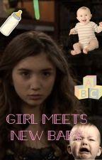 Girl meets new baby! by rucas_x_joshaya