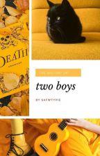 two boys ⟳ lashton by sleepeach