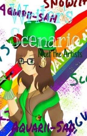 Writer's Scenario: The Artists by Aquarii_Star