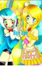bon bon x toy chica un amor yuri ( bonica ) by bonbon_kawaii