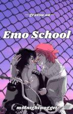 Emo School // Gratsu AU by midnightnugget
