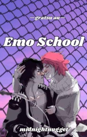 Emo School // Gratsu AU