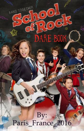 School of Rock Dare Book