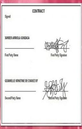 Contract by LuckymysteRiousGirL