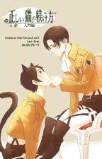 Sweet cat (Spanish version/Version en español) (Levi x Eren/Riren) by ToukaKirishima3500