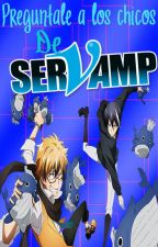 Pregúntale a los chicos de Servamp by CookiessAndCreams