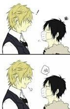 Shizaya *Texting* by Ferrooy