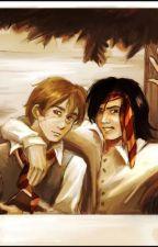 Sirius and Remus by jadenrozi