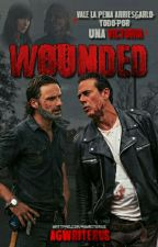 Wounded ×Negan vs Rick× by agwriterus