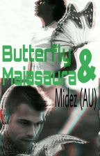 Butterfly & Maiasaura (Midez) by HazStylinson69