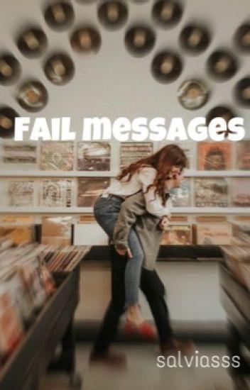 Fail messages // Luke Hemmings
