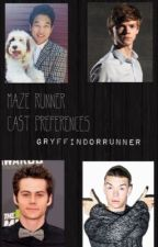 Maze Runner Cast Preferences by GryffindorRunner03