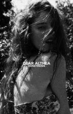 DEAR ALTHEA | SIRIUS BLACK by constinova