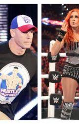 John Cena and Becky Lynch   by cenasoccer78