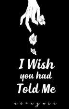 I Wish You Had Told Me by aisazura