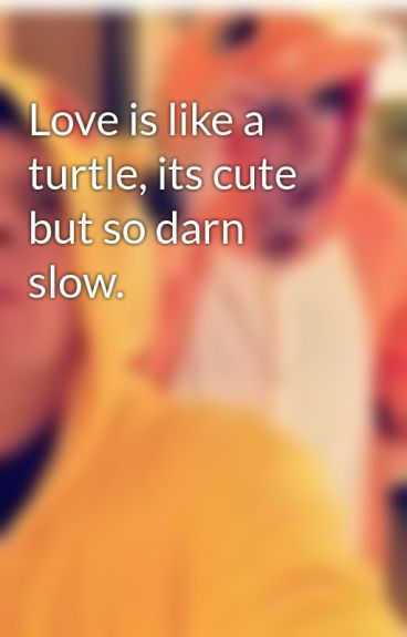 Love is like a turtle, its cute but so darn slow. by Blujump