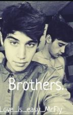 Brothers (Jai Brooks and Luke Brooks - Janoskians) by Love_is_easy_Mcfly