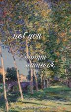 namjin, namseok; not you by tartarek