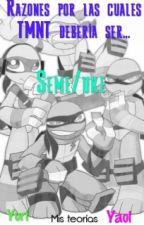 Razones por las cuales TMNT debería ser... Seme/uke by LadyDarkness98