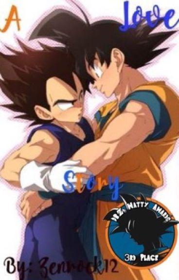 A Love Story (Goku x Vegeta)