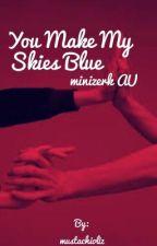 You Make My Skies Blue ~color AU minizerk~  by mustachioliz