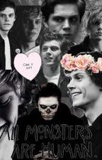 All monsters are human // Evan Peters by deadinsideee