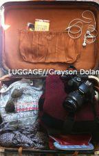 Luggage.// Grayson Dolan by SexualizingDolans