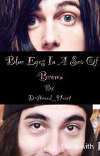 Blue Eyes in a Sea of Brown (Kellic) by Driftwood_Heart