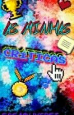 AS MINHAS CRÍTICAS  by SasaOliverse