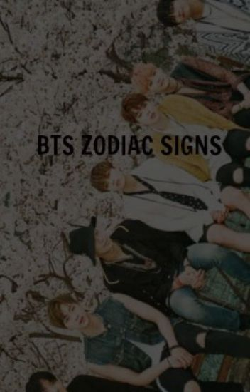 BTS Zodiac Signs