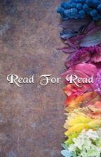 Read For Read (Closed) by JillElizabeth