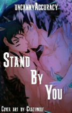 Stand By You - Bokuaka (Owl Person AU) Black x White by The_Alien_Nerd