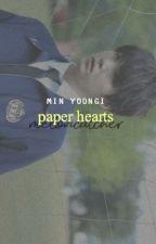 paper hearts   min yoongi by cvrcle