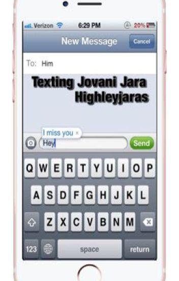 Texting Jovani Jara
