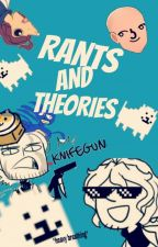 Rant and Theory Book :p by shadowapple12
