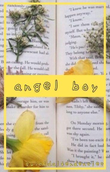 angel boy || destiel au