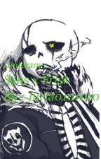 Umieram ... ~ Sans x Frisk {Undertale} by Juria0101010
