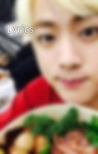 Lyrics by jungmin1234