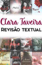 Taveira Revisão Textual - Galeria de trabalhos concluídos by ClaraTaveira