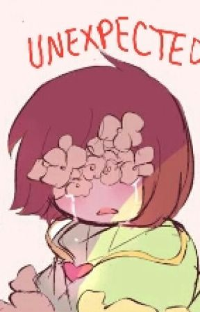 Unexpected~ Chara X Frisk by RoxieOrtiz