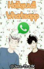 Haikyuu!! Whatsapp by Jenn-ThxJK