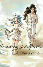 Wedding Proposal -  by A-GajeelRedfox