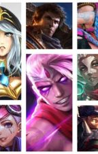 League of Legends OneShots by SweetestSummoner