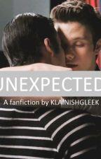 UNEXPECTED (a Klaine fanfiction) by klainishgleek