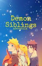 Demon Siblings by xSeranilx