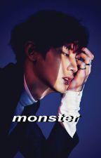 monster ; yandere!park chanyeol by aesthetically-exo