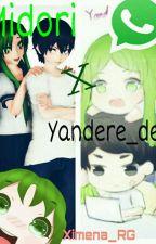 Yandere_dev X midori [whatsApp] by Kusimena